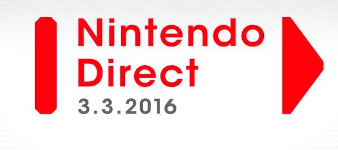 Resumen Nintendo Direct 03/03/2016